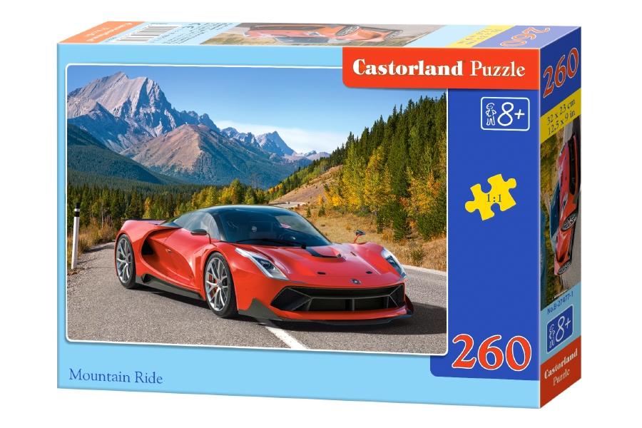 Купить Пазлы Castorland - Авто в горах, 260 элементов