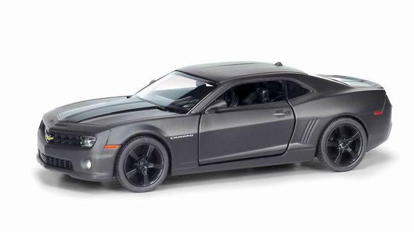 Металлическая инерционная машина RMZ City - Chevrolet Camaro, 1:32, серый матовыйChevrolet<br>Металлическая инерционная машина RMZ City - Chevrolet Camaro, 1:32, серый матовый<br>