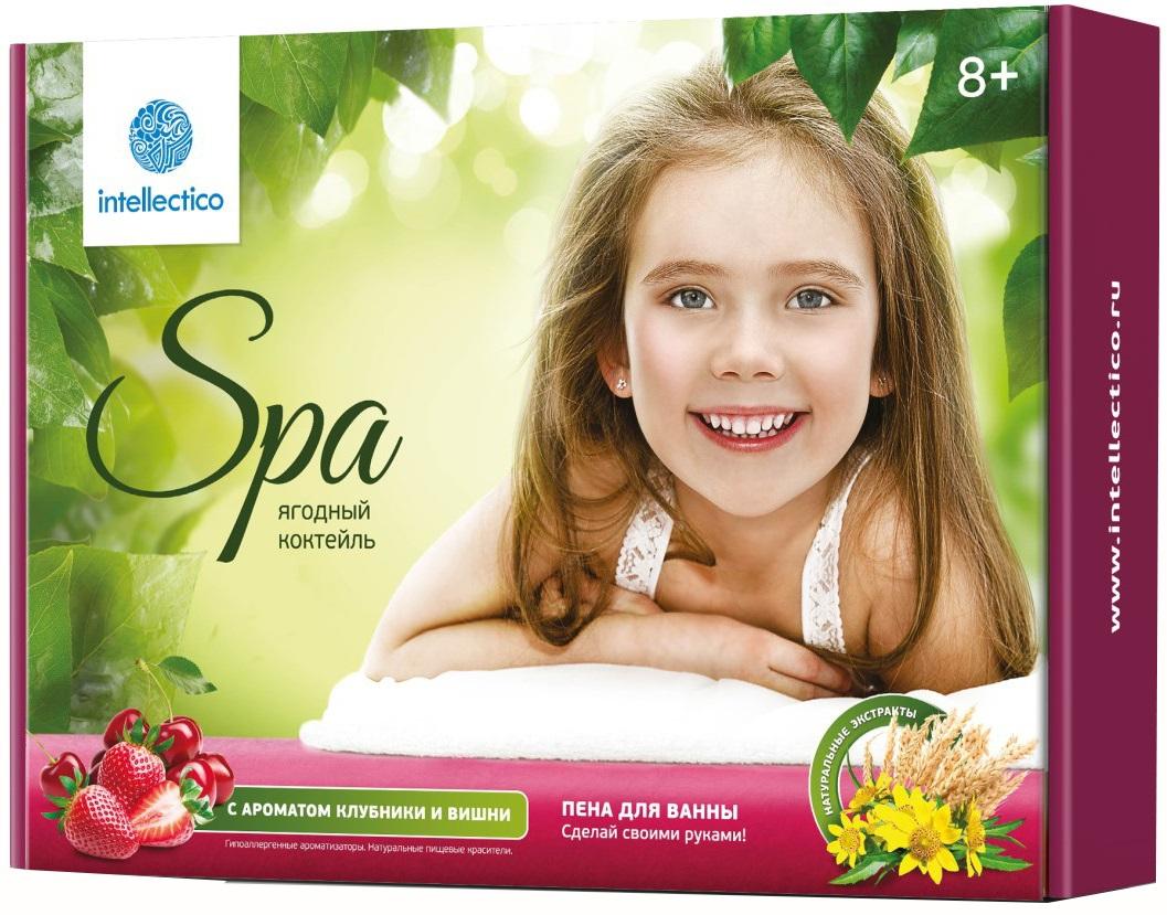 Купить Набор «Сделай своими руками» - Пена для ванны «Ягодный коктейль», с ароматом клубники и вишни, Intellectico