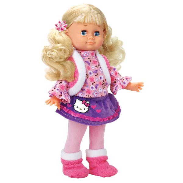 Кукла 30 см., поет, рассказывает стихи, из серии «Hello Kitty»