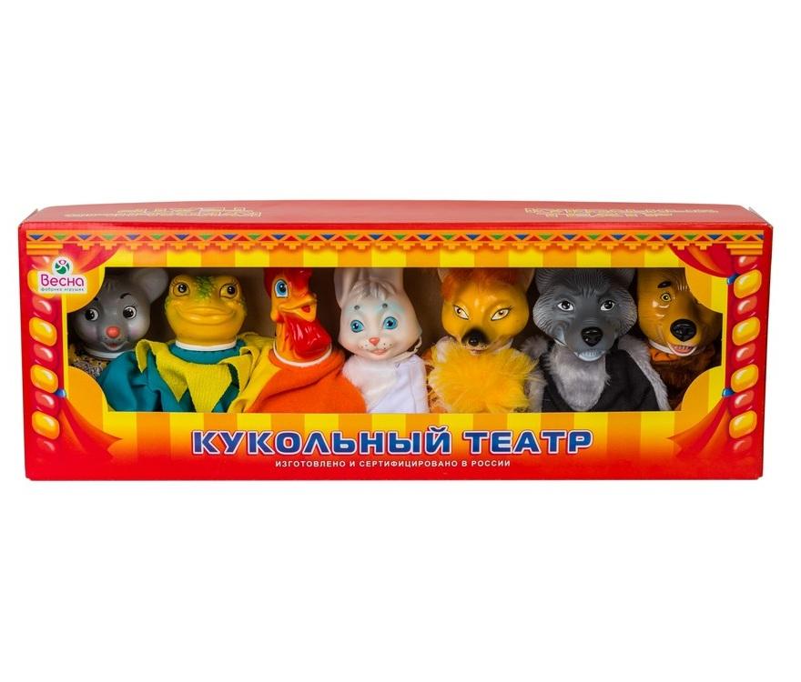 Набор  кукольный театр по сказкам №2 - Детский кукольный театр , артикул: 124002