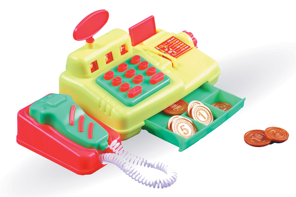 Кассовый аппарат - ЭкспрессДетская игрушка Касса. Магазин. Супермаркет<br>Кассовый аппарат - Экспресс<br>