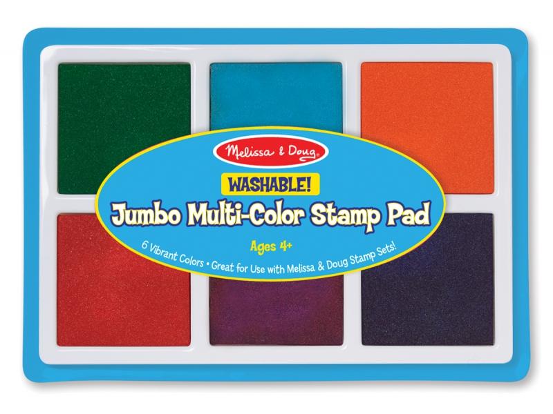 Набор цветных подушечек для штампов, 6 цветовШтампики<br>Набор цветных подушечек для штампов, 6 цветов<br>