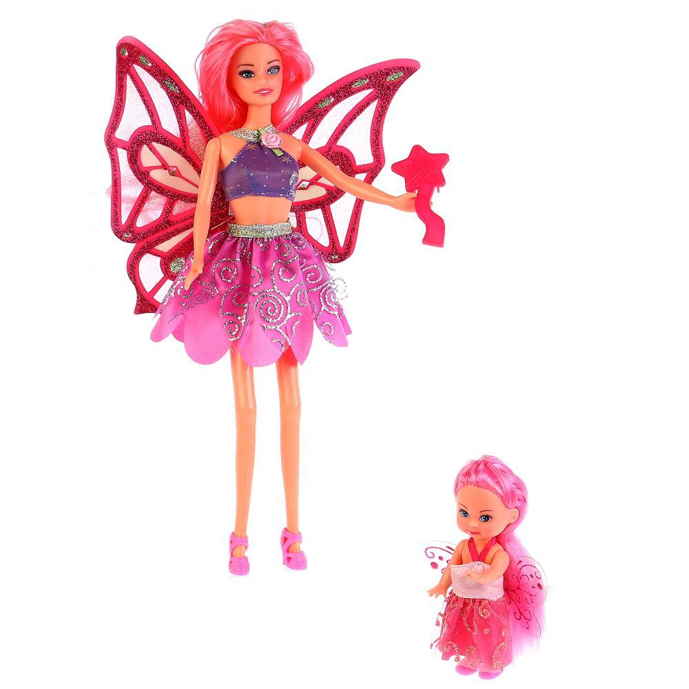 Купить Кукла София фея 29 см. с маленькой феей и аксессуарами, Карапуз
