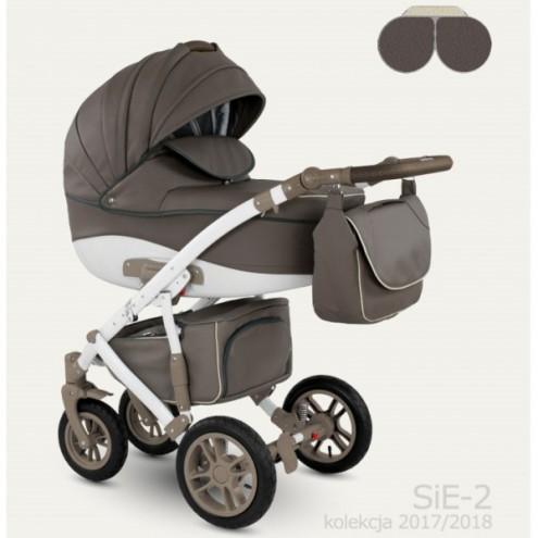 Детская коляска Camarelo Sirion 2 в 1 Eco, цвет - SiE_2Детские коляски 2 в 1<br>Детская коляска Camarelo Sirion 2 в 1 Eco, цвет - SiE_2<br>