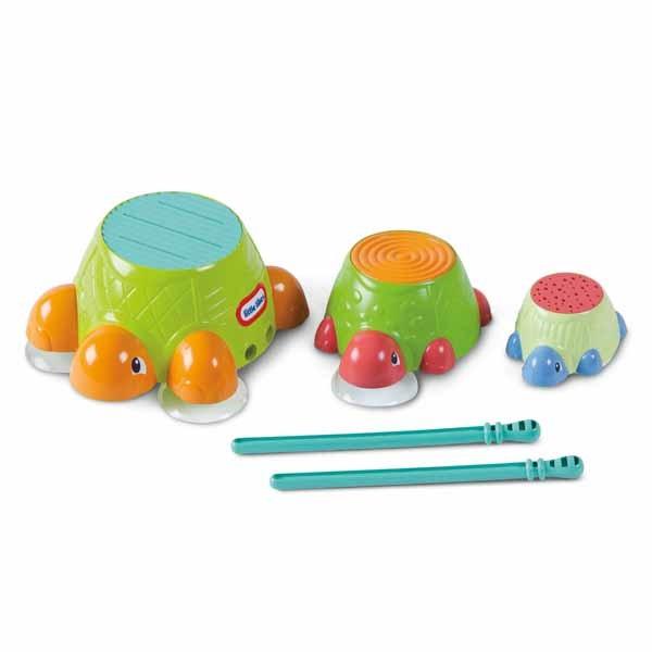 Развивающая игрушка для ванны Черепашки-барабаны - Игрушки для ванной, артикул: 82620
