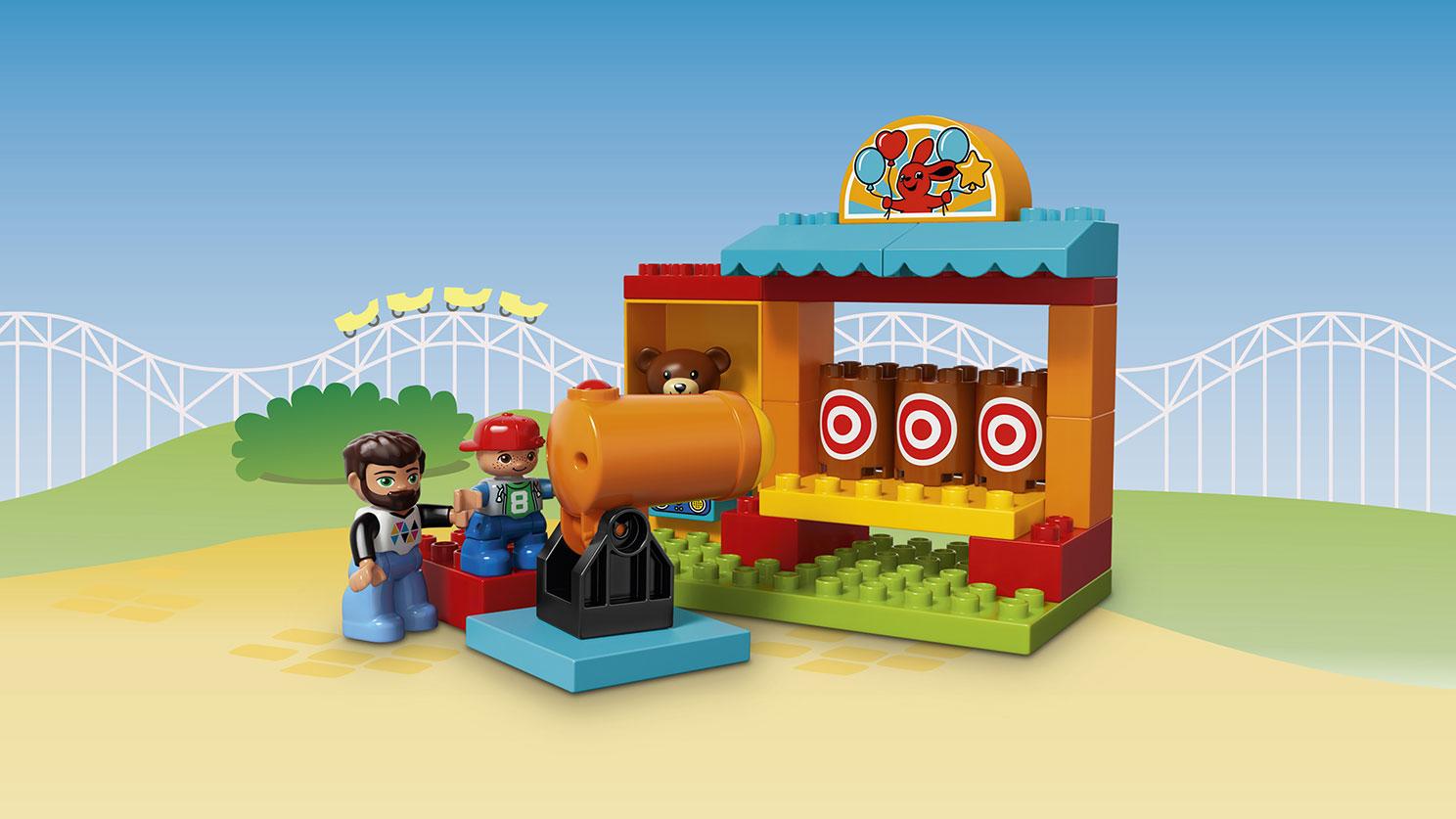 Lego Duplo. Тир