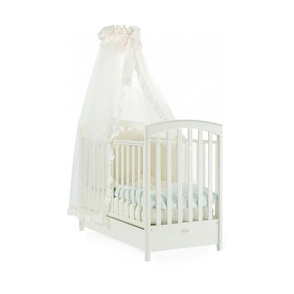 Кровать детская Fms Sauvage BiancoДетские кровати и мягкая мебель<br>Кровать детская Fms Sauvage Bianco<br>