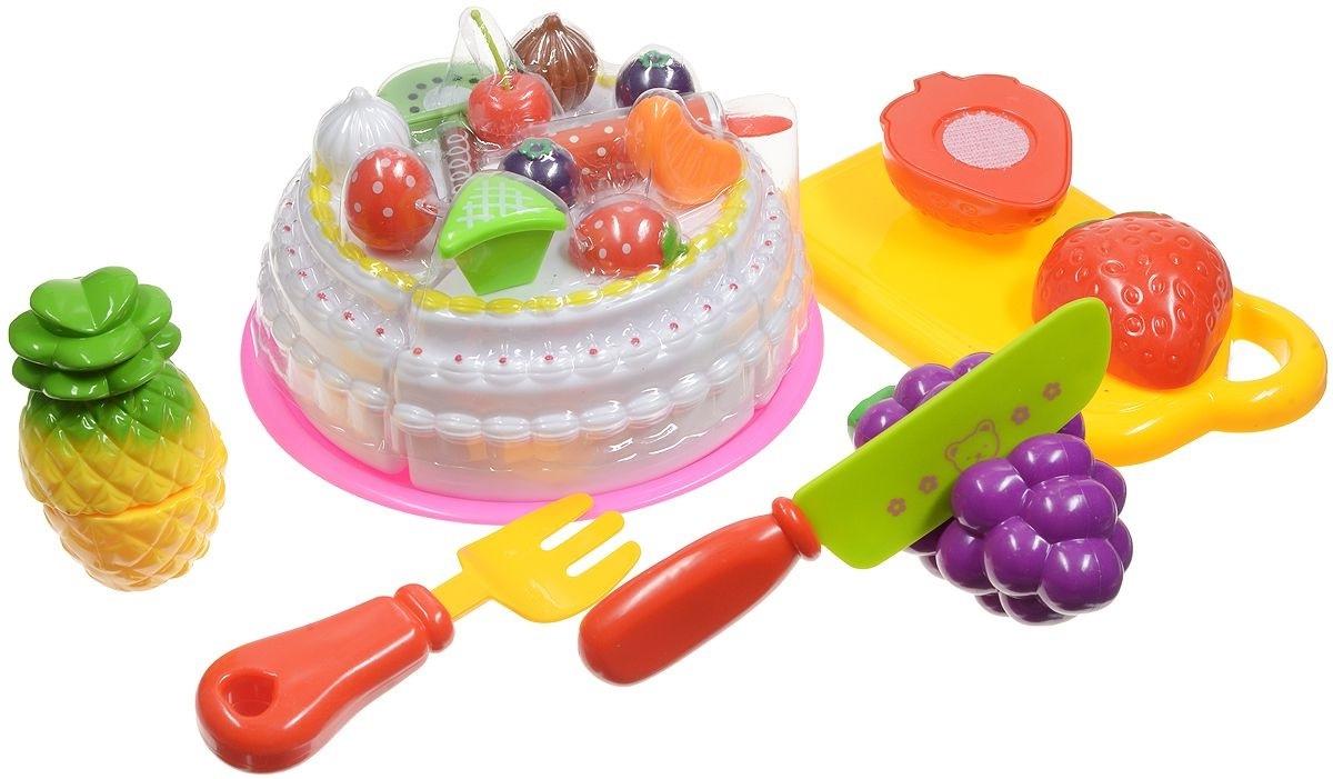 Набор продуктов для резки, 21 предметАксессуары и техника для детской кухни<br>Набор продуктов для резки, 21 предмет<br>