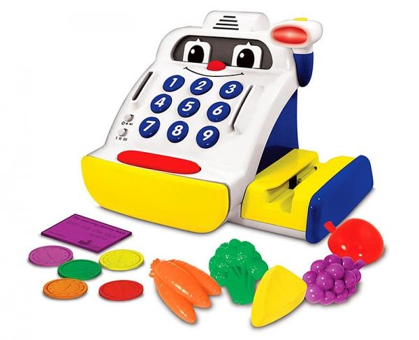 Набор развивающий - Маленький кассир, со звуковыми и световыми эффектамиДетская игрушка Касса. Магазин. Супермаркет<br>Набор развивающий - Маленький кассир, со звуковыми и световыми эффектами<br>