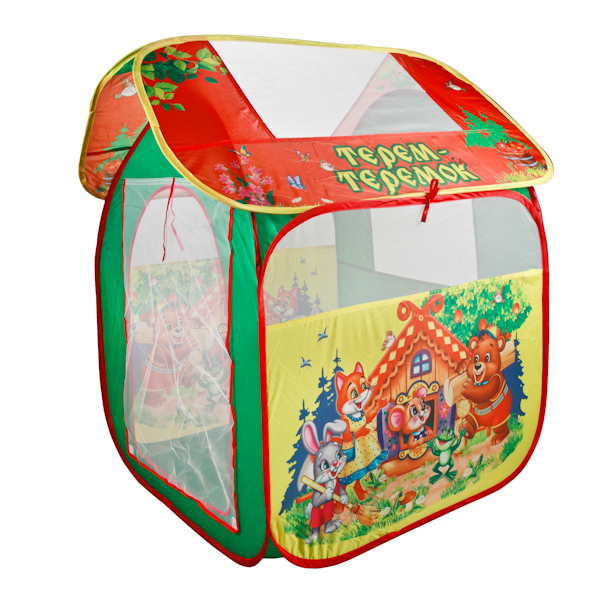 Детская игровая палатка ТеремокДомики-палатки<br>Детская игровая палатка Теремок<br>