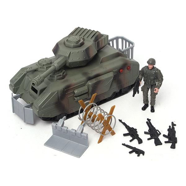Игровой набор – Военные,  танк с аксессуарами или самолетВоенная техника<br>Игровой набор – Военные,  танк с аксессуарами или самолет<br>