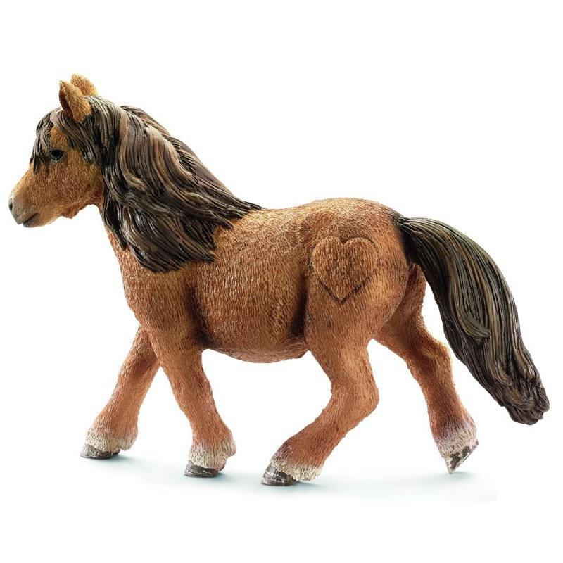 Купить Фигурка - Шотландский пони, размер 10 х 3 х 7 см., Schleich