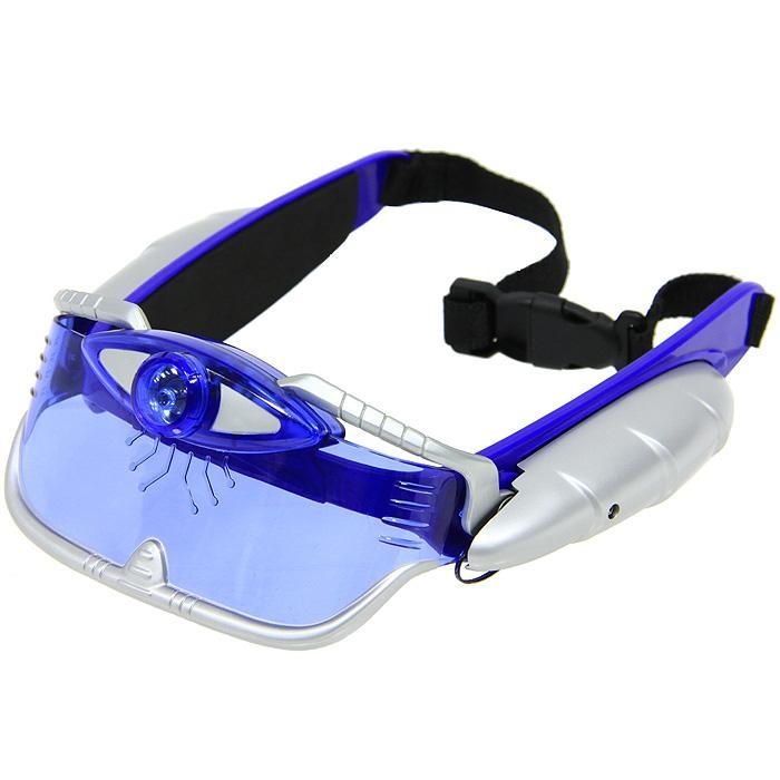 Шпионские очки ночного видения со световыми эффектамиШпионские игрушки. Наборы секретного агента<br>Шпионские очки ночного видения со световыми эффектами<br>