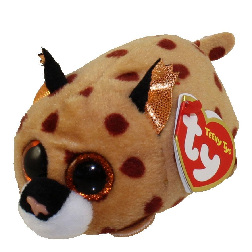 Мягкая игрушка Teeny Tys - Рысенок Kenny, 10 смДикие животные<br>Мягкая игрушка Teeny Tys - Рысенок Kenny, 10 см<br>