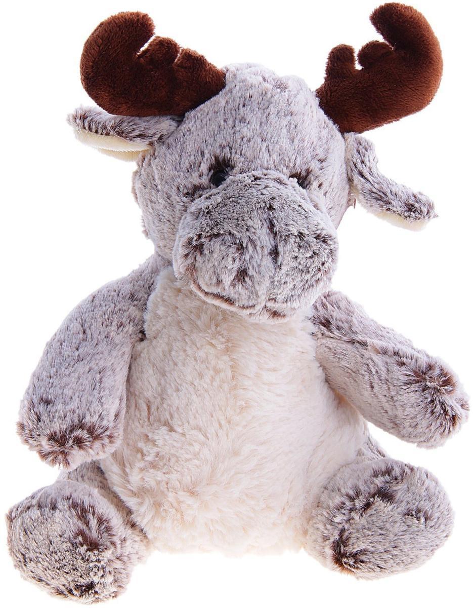 Мягкая игрушка - ЛосьДикие животные<br>Мягкая игрушка - Лось<br>