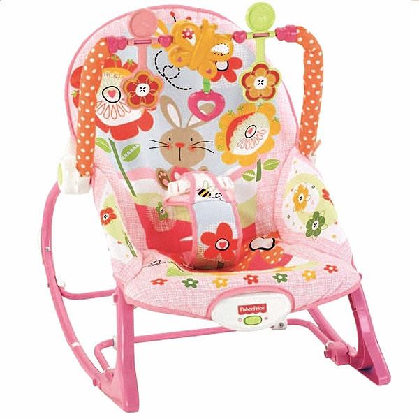 Mattel Кресло-качалка для детей, Растём вместе