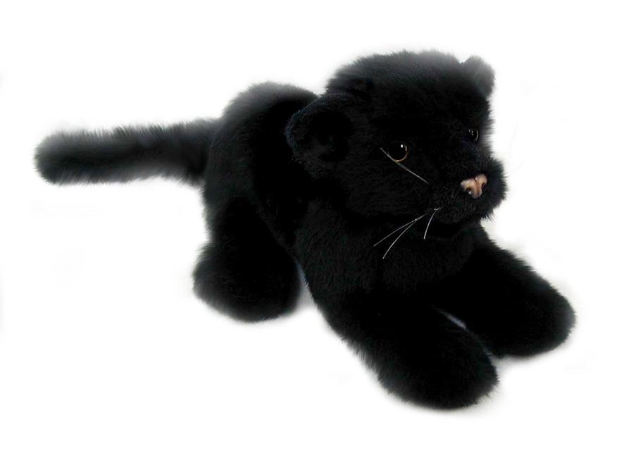 Детеныш черной пантеры, 26 смДикие животные<br>Детеныш черной пантеры, 26 см<br>