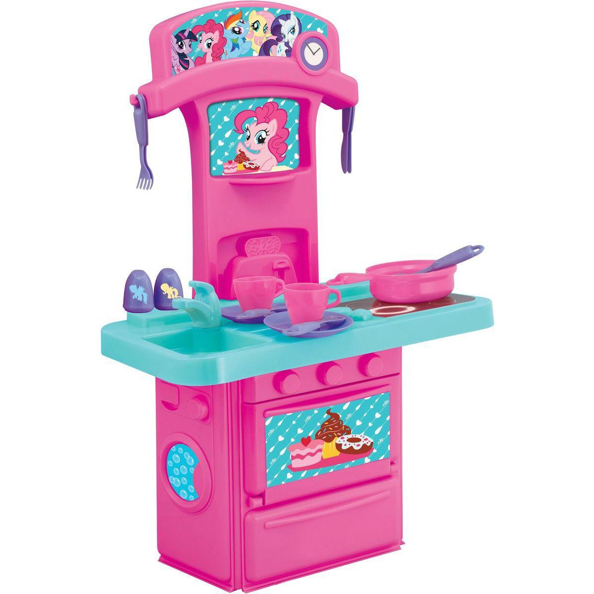 Мини-кухня My Little Pony, свет и звукДетские игровые кухни<br>Мини-кухня My Little Pony, свет и звук<br>