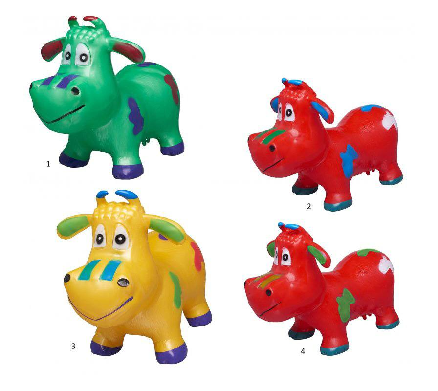 Животное-прыгун Бычок, 4 цвета