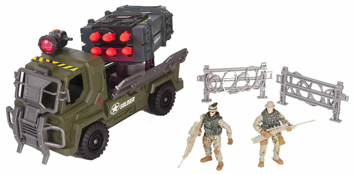 Набор - Мобильный ракетный комплекс, светРоботы, Воины<br>Набор - Мобильный ракетный комплекс, свет<br>