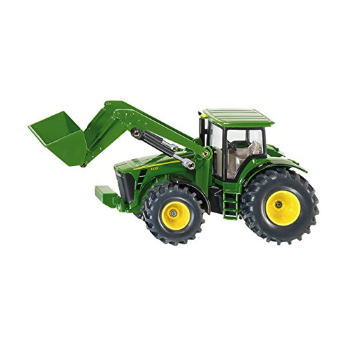 Модель трактора с фронтальным погрузчиком, 1:50Игрушечные тракторы<br>Модель трактора с фронтальным погрузчиком, 1:50<br>