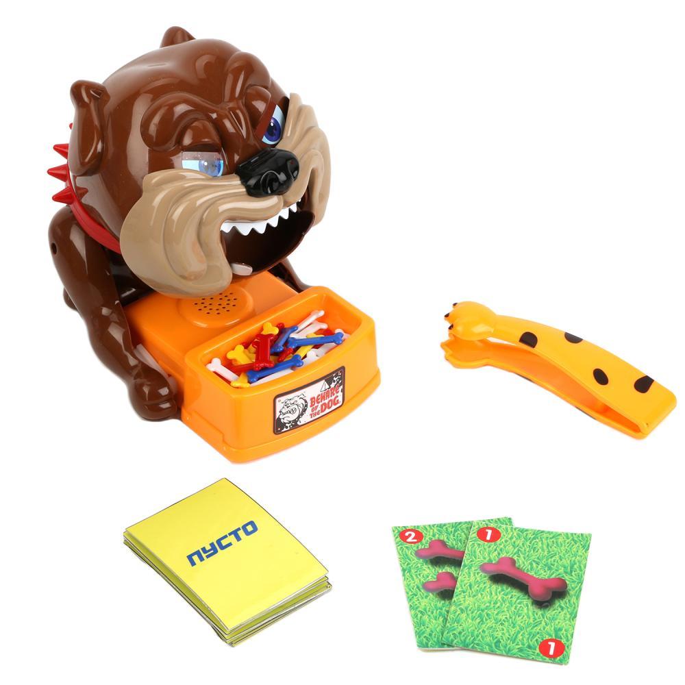 Купить Настольная игра - Осторожно, злая собака, Играем вместе
