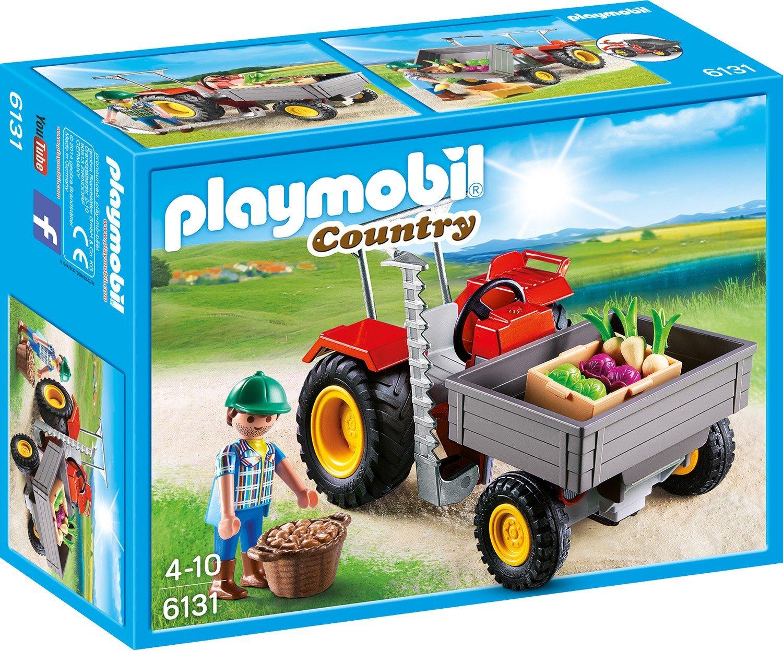 Игровой набор из серии Ферма  Уборочный трактор - Конструкторы Playmobil, артикул: 159269