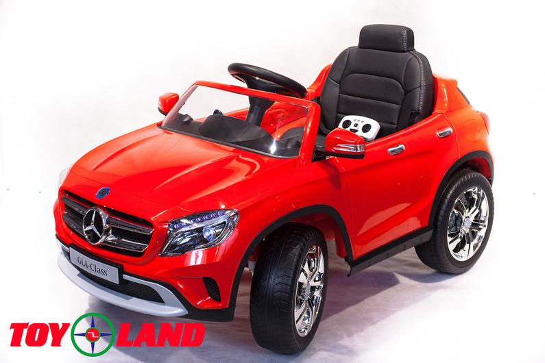 Электромобиль – Mercedes-Benz GLA R653, красный, свет и звукЭлектромобили, детские машины на аккумуляторе<br>Электромобиль – Mercedes-Benz GLA R653, красный, свет и звук<br>