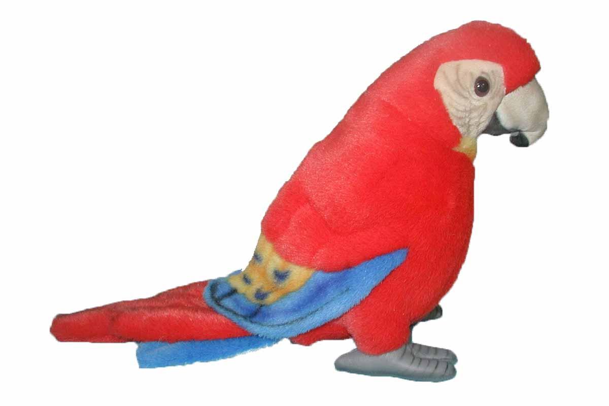 Попугай Ара, красный, 20 смДикие животные<br>Попугай Ара, красный, 20 см<br>