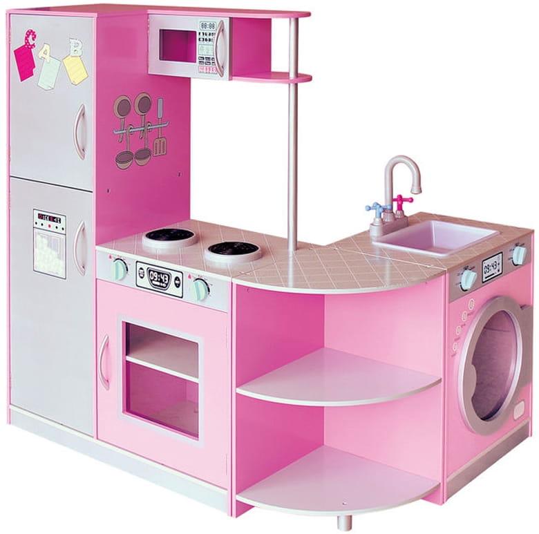 Детская игровая мебель из дерева - кухня Верона фото