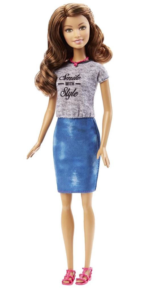 Кукла Barbie - Игра с модой - ШатенкаКуклы Barbie (Барби)<br>Кукла Barbie - Игра с модой - Шатенка<br>