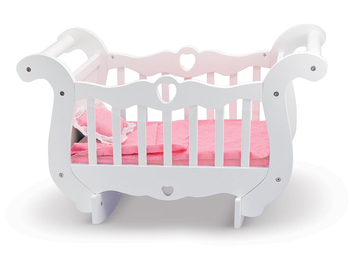 Деревянная колыбель для куколДетские кроватки для кукол<br>Деревянная колыбель для кукол<br>