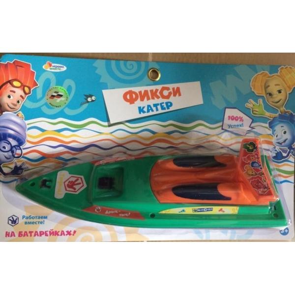 Катер - ФиксикиРезиновые игрушки<br>Катер - Фиксики<br>