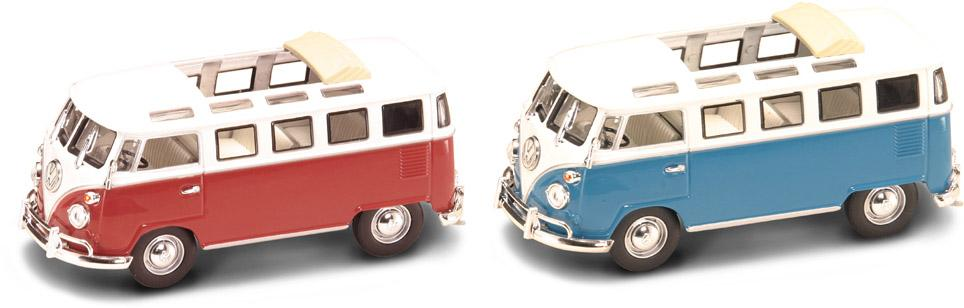 Коллекционный автомобиль - Фольксваген микроавтобус, образца 1962 года, масштаб 1/43, серия ПремиумVolkswagen<br>Коллекционный автомобиль - Фольксваген микроавтобус, образца 1962 года, масштаб 1/43, серия Премиум<br>
