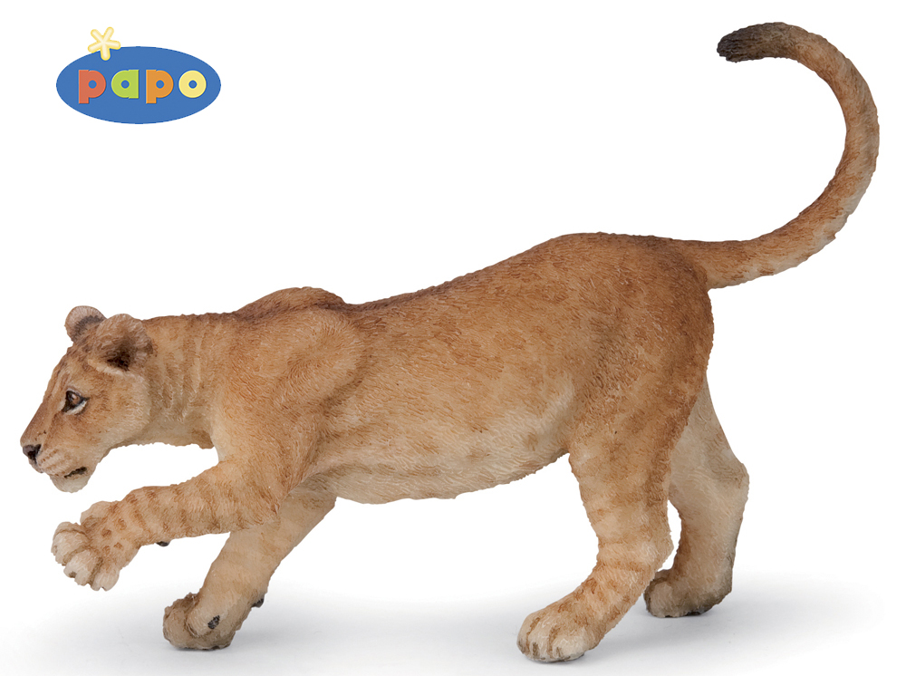 Купить Фигурка Молодой лев, Papo