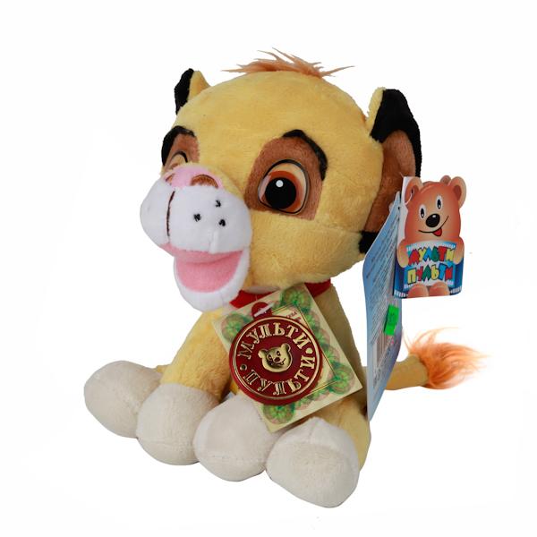 Озвученная мягкая игрушка Disney - Львенок СимбаГоворящие игрушки<br>Озвученная мягкая игрушка Disney - Львенок Симба<br>