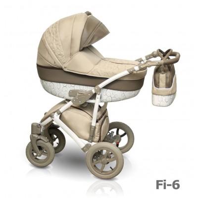 Детская коляска Camarelo Figaro 2 в 1, цвет - Fi_6Детские коляски 2 в 1<br>Детская коляска Camarelo Figaro 2 в 1, цвет - Fi_6<br>