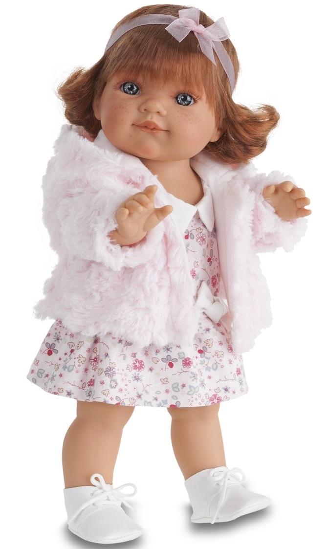 Кукла Клаудия в розовом, 38 см.Куклы Антонио Хуан (Antonio Juan Munecas)<br>Кукла Клаудия в розовом, 38 см.<br>