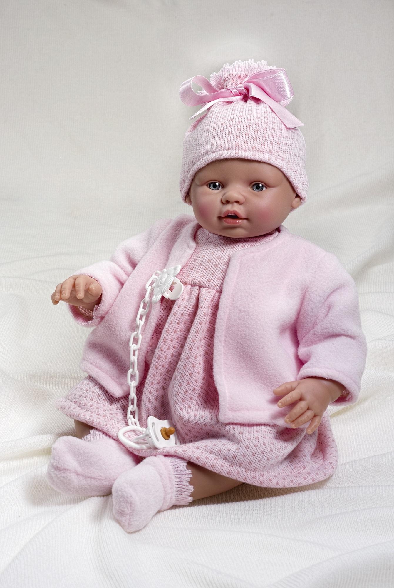 Кукла Неус, озвученная, 45 см.Куклы ASI (Испания)<br>Кукла Неус, озвученная, 45 см.<br>