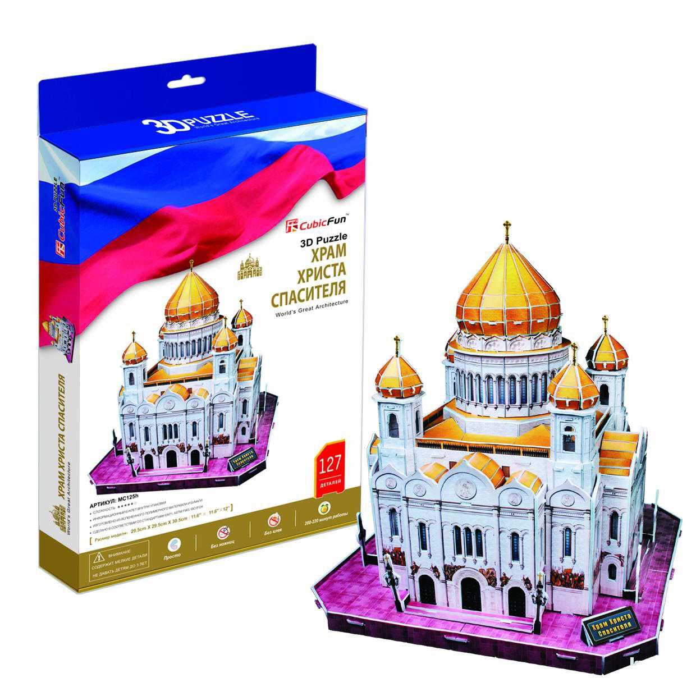 3D puzzles. Пазлы объёмные. Храм Христа Спасителя