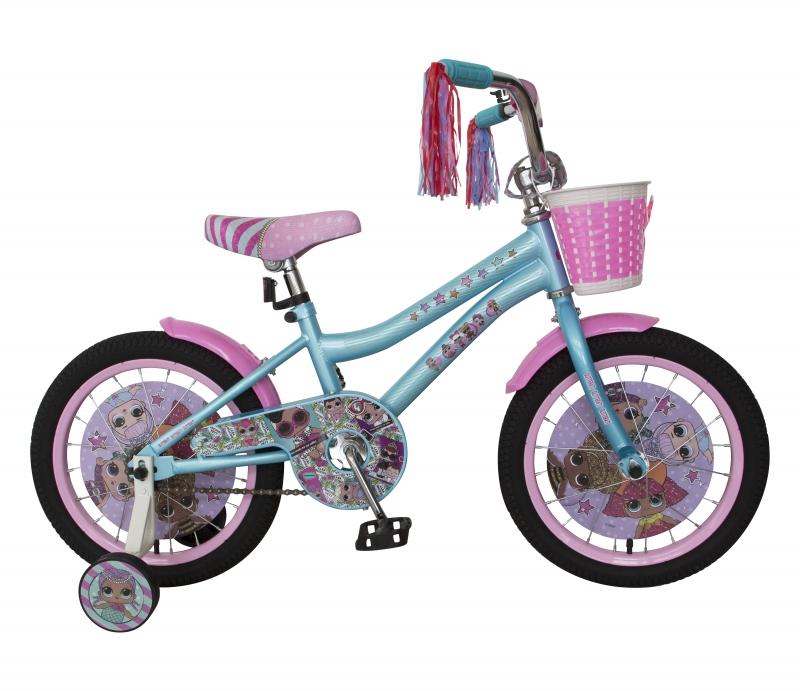 Детский велосипед Navigator - LOL, колеса 18 , стальная рама, голубой  - купить со скидкой