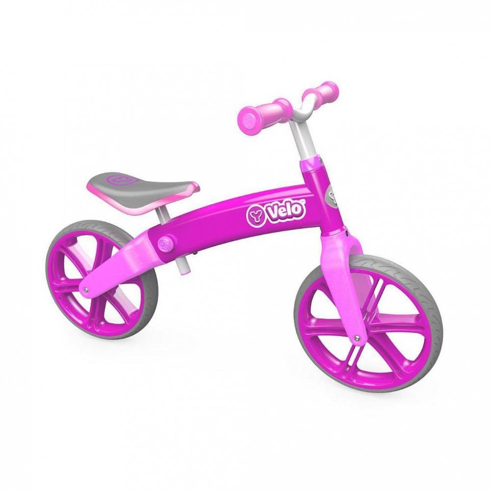 Купить Беговел - Velo Balance, розовый, YVolution