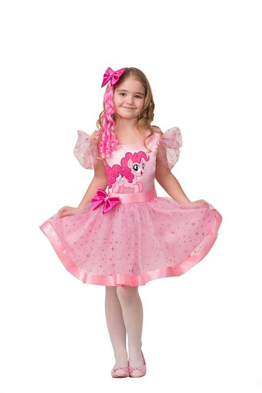 Карнавальный костюм для девочек – Пинки Пай, размер 110-56