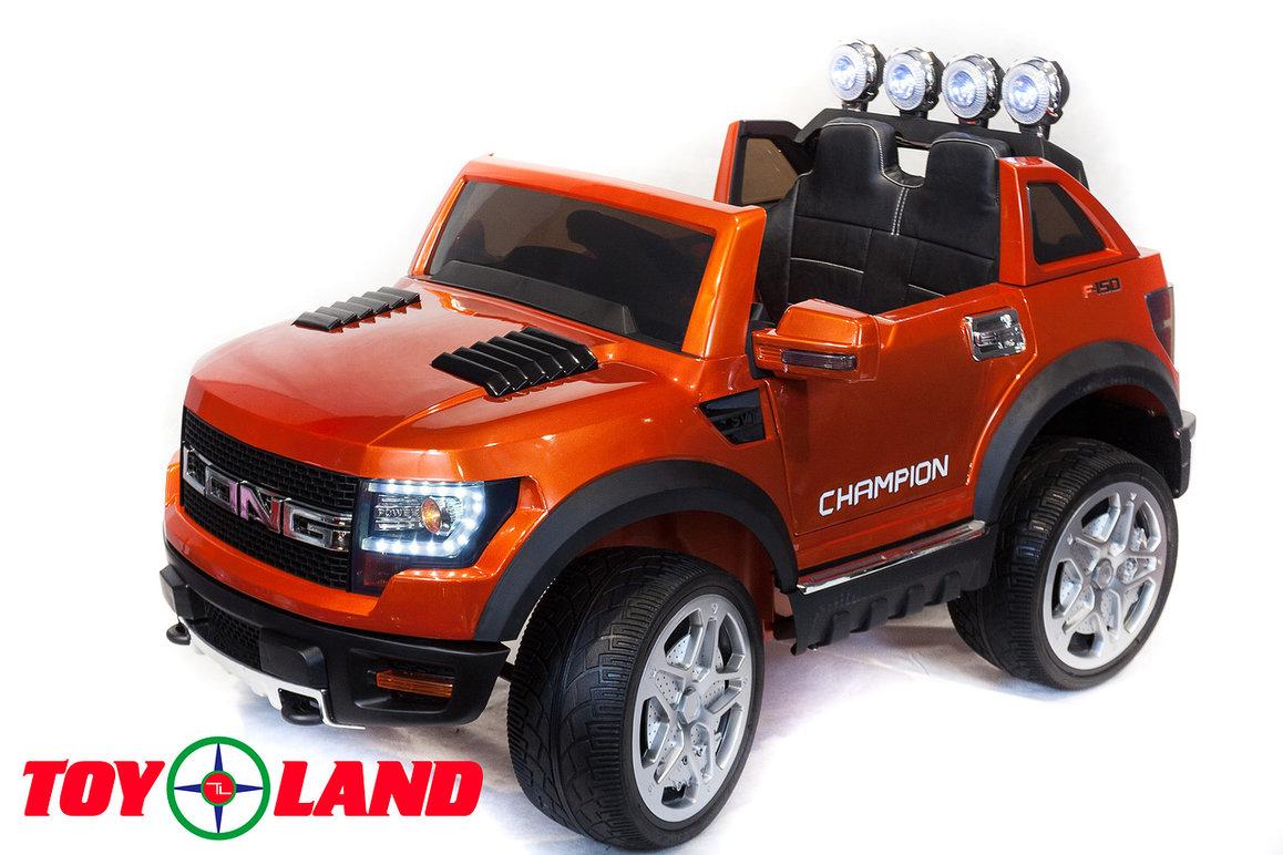 Купить Детский электромобиль ToyLand BBH1388, цвет оранжевый