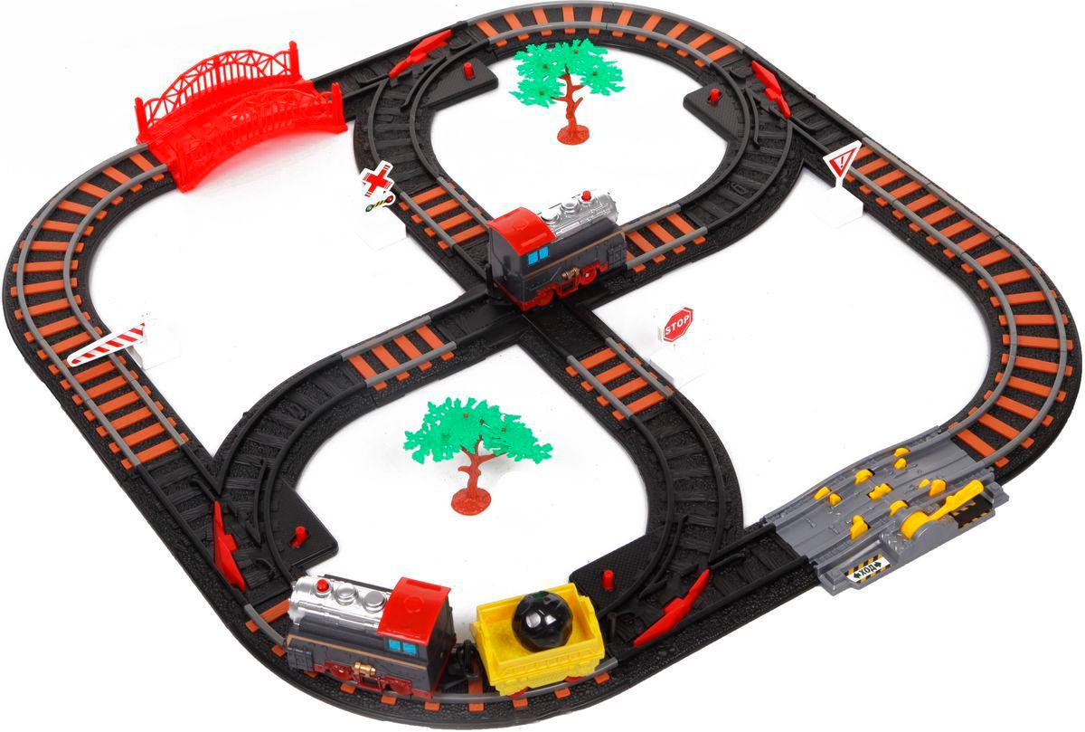 Железная дорога с перекрестком – Останови крушениеДетская железная дорога<br>Железная дорога с перекрестком – Останови крушение<br>