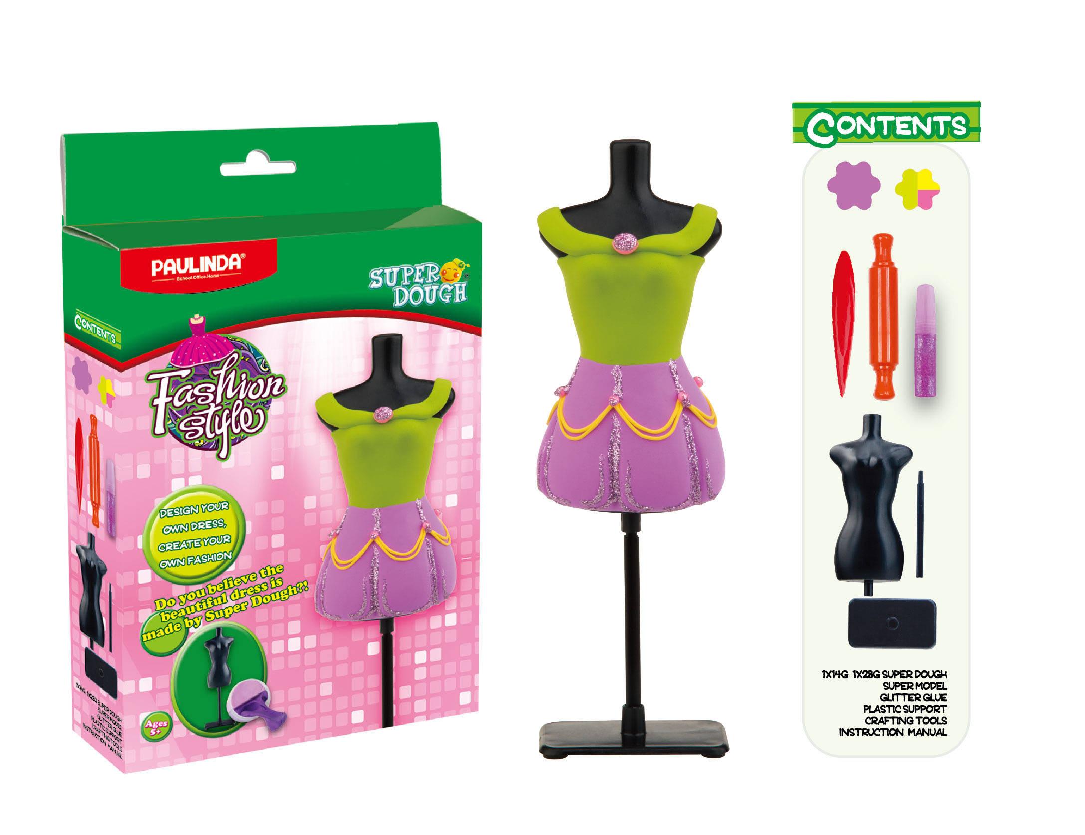 Масса для лепки - Мода и стиль, для создания наряда куклыНаборы для лепки<br>Масса для лепки - Мода и стиль, для создания наряда куклы<br>