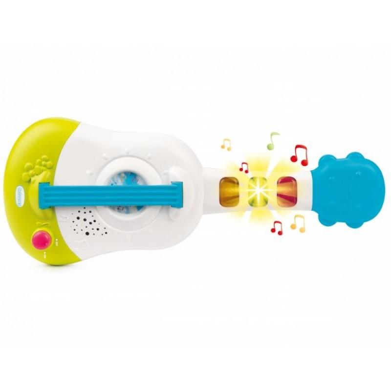 Детская электроная укулеле Cotoons, свет, звук фото