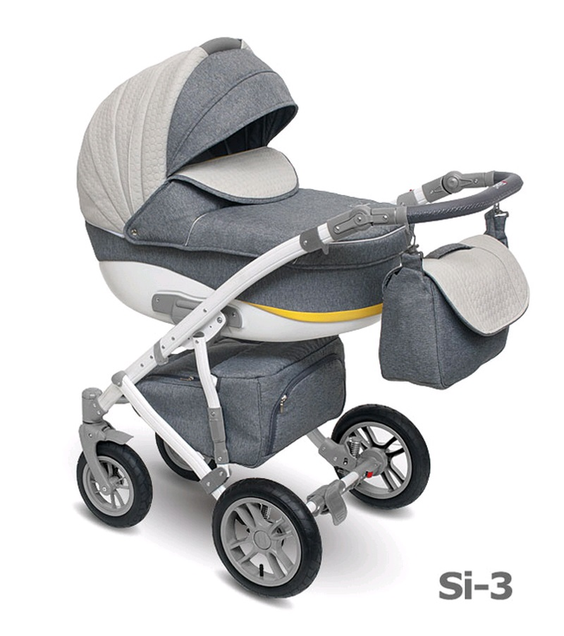 Детская коляска Camarelo Sirion 2 в 1, цвет - Si_03Детские коляски 2 в 1<br>Детская коляска Camarelo Sirion 2 в 1, цвет - Si_03<br>