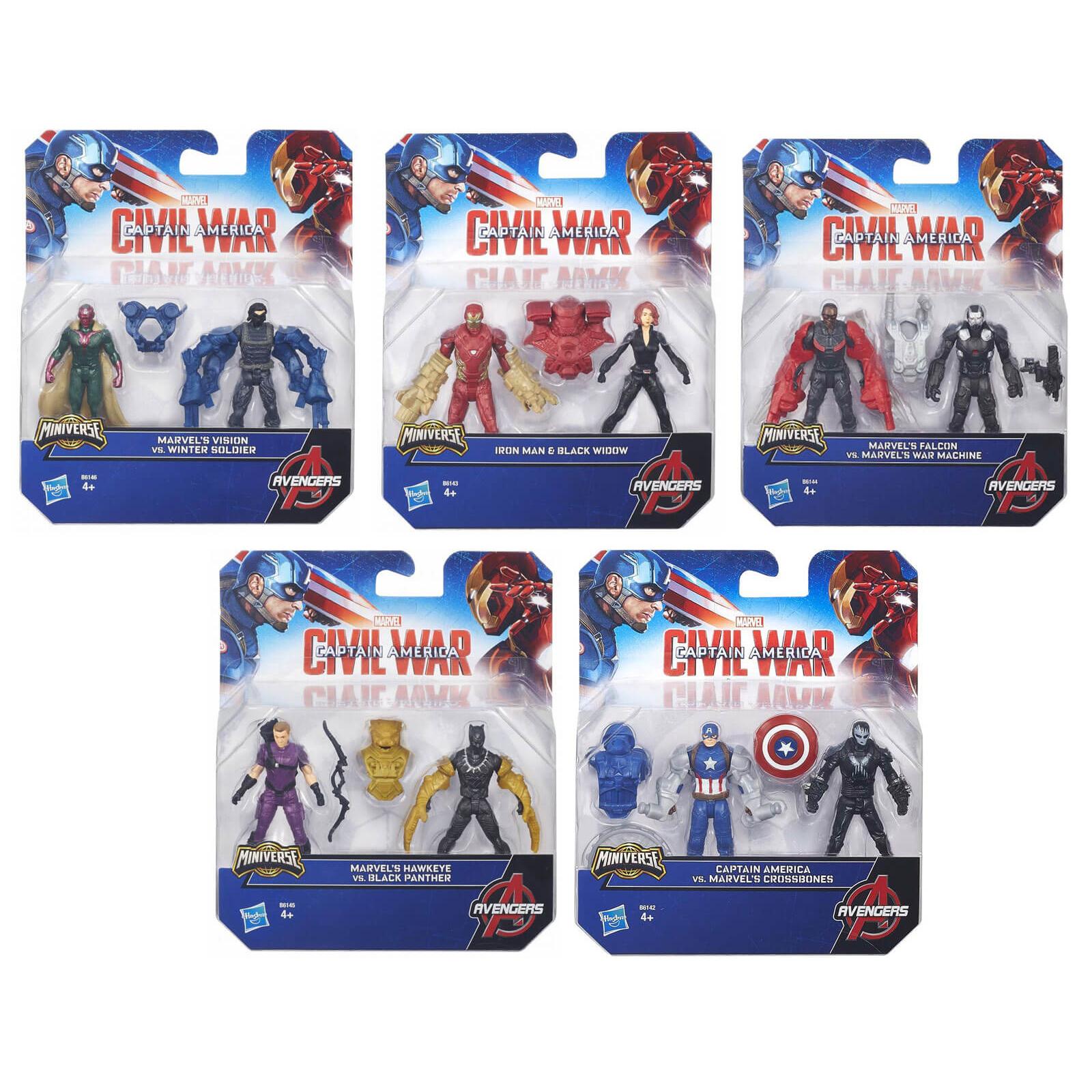 Набор из 2 фигурок Мстителей из серии AvengersAvengers (Мстители)<br>Набор из 2 фигурок Мстителей из серии Avengers<br>